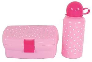 JaBaDaBaDo E4021 - Fiambrera y Botella, Color Rosa
