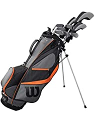 WILSON Golf 2019 Herren X31 Complete Graphite Shaft Package Set Stand Bag - Rechte Hand