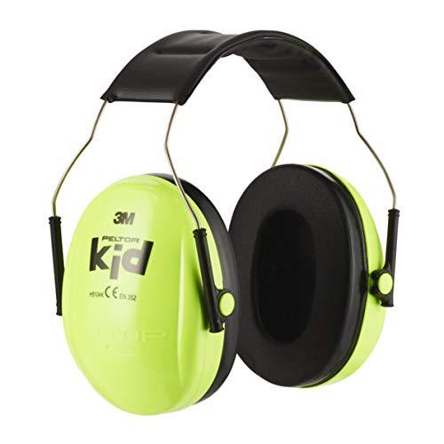 3M H510AK Peltor Kid Cuffie Anti-Rumore Otoprotettori, Attenuazione del Rumore 27 dB, Protezione fino a 98 dB, Archetto Regolabile, Peso...