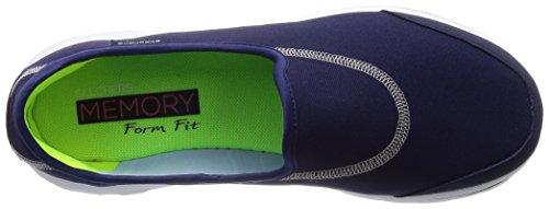 Skechers Gowalk Impress, Sandales de marche Femme Bleu (Nvy 13756)