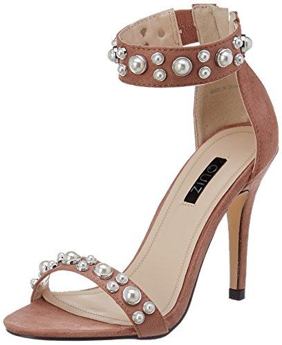Quiz Pink Pearl, Sandali con Cinturino alla Caviglia Donna Pink (Pink)