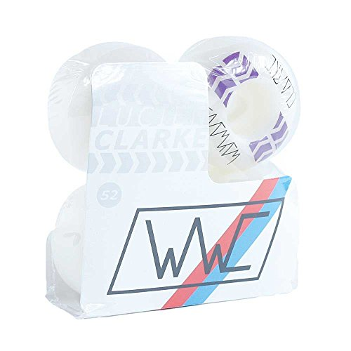 Wayward Wheels Series 3Lucien Clarke Pro skateboard Wheels bianco 101a 52mm
