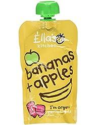 Ella's Kitchen Organic Bananas + Apples Pouch 4+ Months 120g