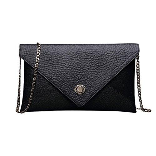 Home Monopoly Borsa piccola borsa del pacchetto del pacchetto Grande borsa femminile del sacchetto della borsa del messaggero borsa della borsa della donna / con la cinghia di spalla ( Colore : Nero ) Nero