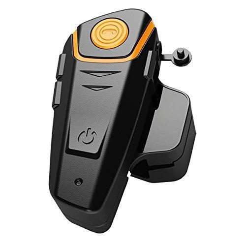 Yideng Bluetooth Motorcycle Helmet Headset Intercom Communication Headphone Universal Wireless Interphone To 2 or 3 Riders(Single)