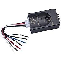 Mr.Ho High Low Adapter Signalwandler für Autoradio Konvertiert Lautsprecher-Hochpegel-Signale in Das Cinch-Format