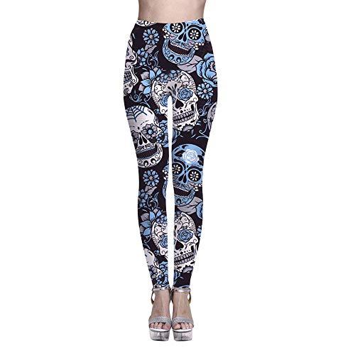 MEIbax Leggings Deportes Pantalones para mujeres Personalidad...