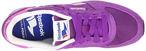 Reebok Royal Classic Jogger, Chaussures de Running Entrainement Femme Violet (aubergine/ultraberry/white/black/coll Royal)
