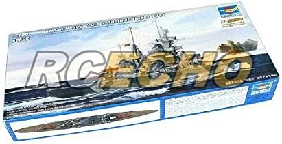 RCECHO® Trumpeter Military Model 1/700 War Ship German Cruiser Admiral 1941 05776 P5776 with 174; Full Version Apps Edition | Réputation D'abord