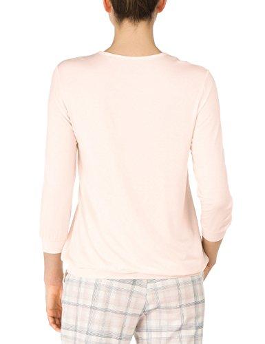 CALIDA Top Langarm/ 3/4 Arm Favourites, Haut de Pyjama Femme Rose - Rosa (powder puff 170)