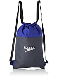 Speedo Pool Bag Au, Borsa Unisex Adulto, Multicolore (Oxid Grey/Ultramarine), Taglia Unica