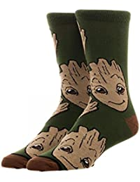 Marvel Guardians of the Galaxy 2 Groot All Over Print Crew Chaussettes