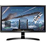 LG 24 inch (60.45 cm) Gaming 4K UHD LED Monitor - 4K UHD, IPS Panel with HDMI, Display, Audio Out, Heaphone Ports - 24UD58 (Black)