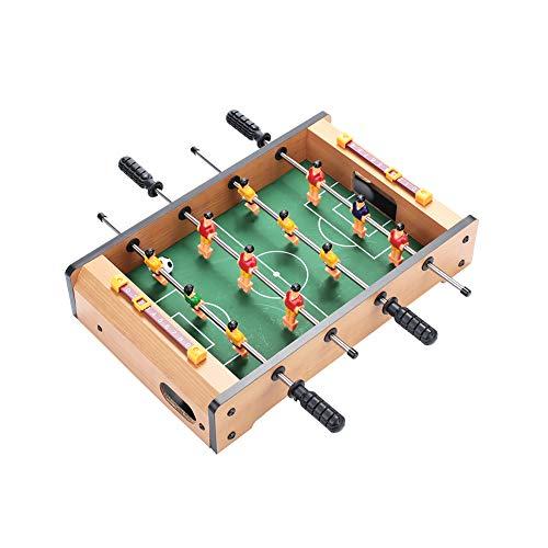 l Fußballtisch Fußballspieltisch Kinder Kollektion Spiel Holzfarbe Holz Praktisch ()