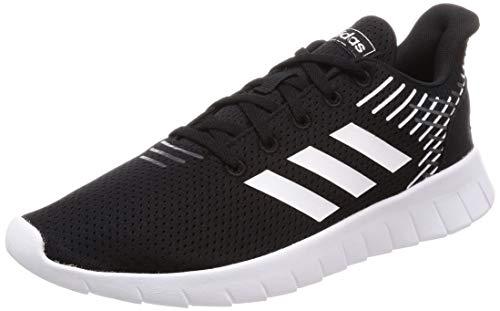 adidas Asweerun, Scarpe da Running Uomo, Nero Core Black/Ftwr White/Grey Six, 42 EU