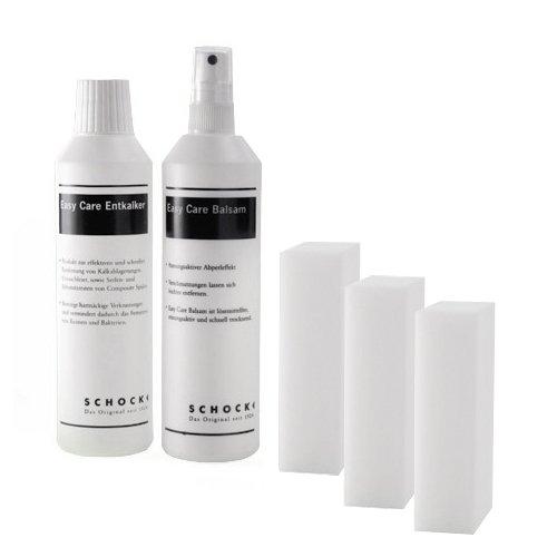 Schock 629018 Easy Care Set Radierschwamm Reinigung Spüle Granit Nanogranit rein