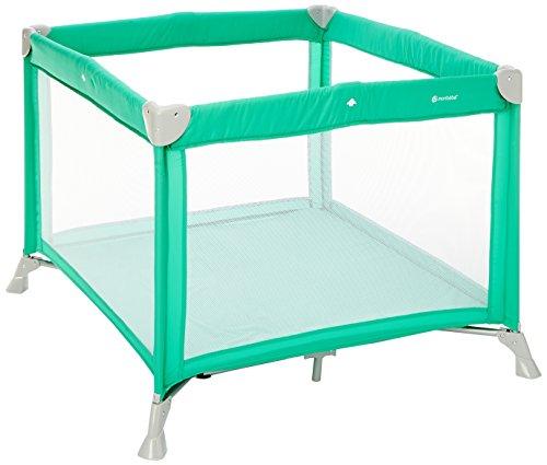 Lettino Box.Monbebe Circus Box Lettino Da Viaggio Richiudibile Colore Verde