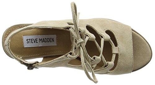 Steve Madden - Nilunda Sm, Sandali Donna Beige (Beige (sabbia))