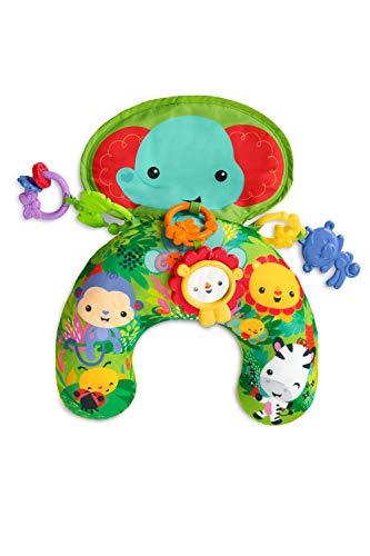 Fisher-Price Spielkissen, mit abnehmbarem Spielzeug, Babyerstausstattung, ab 0 Monaten