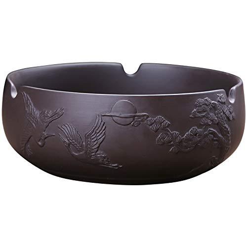 GBCJ Xiang Ye té púrpura Tetera Accesorios, té, té, Tetera, Botella de Agua, tamaño pequeño y Lavado, cenicero Negro, Arena púrpura y cenicero de grúa de Pino