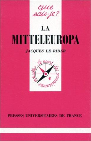 La Mitteleuropa