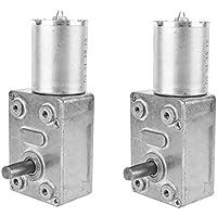 Sharplace DC 12V Gear Reduction Motor Getriebemotor Set/2Stück - 100RPM