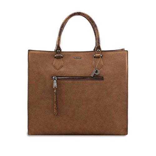 PICARD Temptation 2447 Tasche Damen Henkeltasche Modern 34x29x15 cm (BxHxT), Farbe:Cognac Cognac