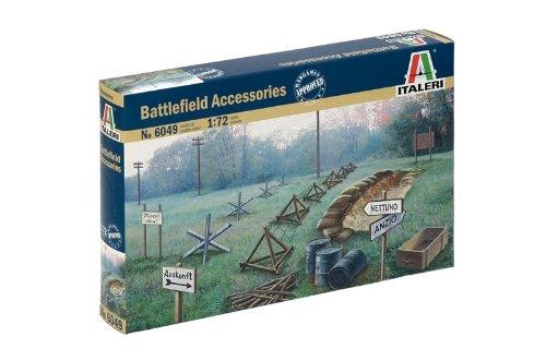 Italeri 510006049 - 1:72 Zubehör Schlachtfeld WWII