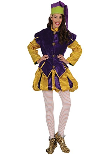 Farfadet Kostüm - Kostüm Waldelfe, Weihnachten, Wichtel, Purpur, DE