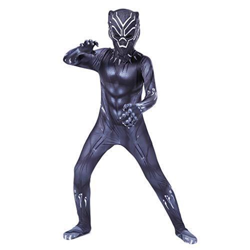 Yujingc Cosplay Kostüm Siamesische Strumpfhose Halloween Abendkleid-Ausstattungs-Kleid Baby Body für Erwachsene Kinder Kinder Movie Game Cosplay,Black,XS