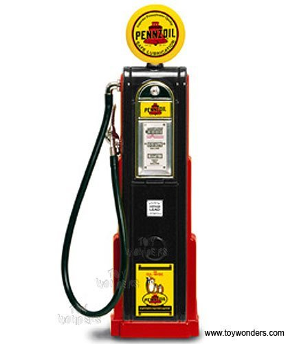 yatming-digital-gas-pump-pennzoil-1-18-scale-diecast-model-black-98791-diecast-motorcycles-and-cars-