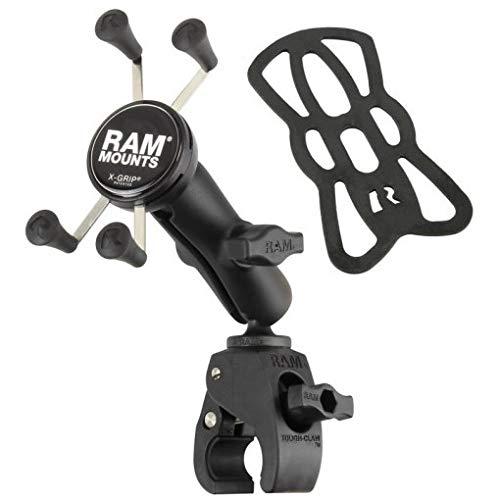 Ram Mounts RAM Tough-Claw 1Inch Ball W/RAM X-Grip, RAM-B-400-UN7 (W/RAM X-Grip) Mount W/ X-grip
