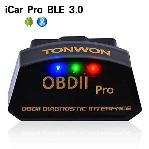 OBD2 Bluetooth Auto Diagnosi Strumento, TONWON OBDII ELM327 Adattatore Car Diagnostics Tool per Andro