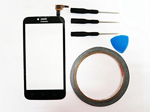 For Huawei Ascend Y625 Touchscreen Glas Display Digitizer Schwarz Touch Screen+Klebeband & Werkzeuge