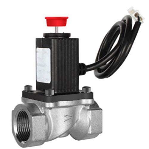 Automatische Gas-ventil (TOOGOO Dn20 Manuelle Rueck Stellung G1 / 2 Zoll G3 / 4 Zoll Erdgas Not Absperr Ventil Fuer Selbst Gebranntes Brennbares Gas Automatisches Gas Ventil Magnet Ventil)