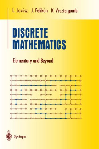 Discrete Mathematics: Elementary and Beyond (Undergraduate Texts in Mathematics)