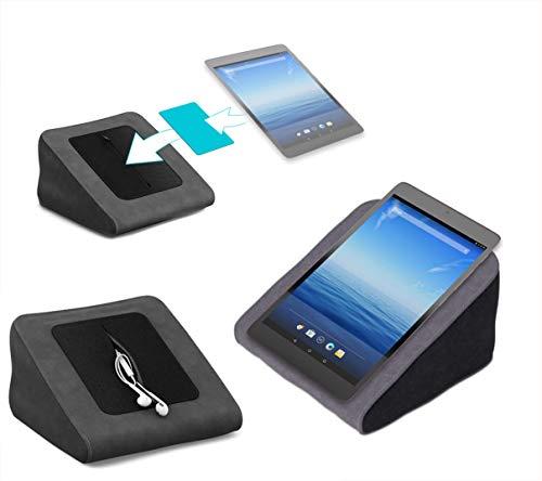 Tablet Kissen für das NextBook Ares 8L - ideale iPad Halterung, Tablet Halter, eBook-Reader Halter für Bett & Couch