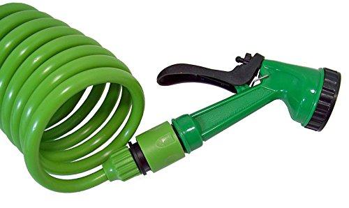 Lifetime-Garden-15-m-Gartenschlauch und Sprühpistole-Grün
