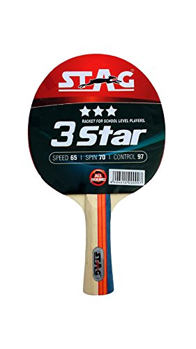 Stag 3 Star Table Tennis Racquet