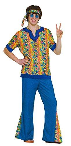Karnavale Erwachsenes Kostüm Hippie-Kerl
