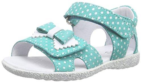 Richter Kinderschuhe Sissi S, Sandales premiers pas bébé fille Turquoise - Türkis (turquoise/panna  5711)