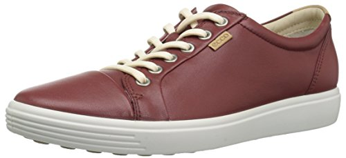Ecco Damen Soft 7 Ladies Sneaker, Rot (Fired Brick 1330), 39 EU