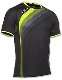 Joma ELITE V Camiseta, Unisex adulto, Negro, XXS