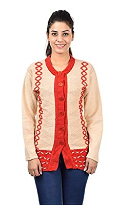 Pilot's Full Sleeve High Quality Long Woolen Women Cardigan