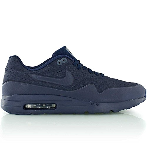 Nike Air Max 1 Ultra Moire, Baskets basses homme Blau (Midnight Navy/Mid Navy-Blk)