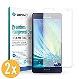 smartect Panzerglas kompatibel mit Samsung Galaxy A5 2015 [2 Stück] - Displayschutz mit 9H Härte - Blasenfreie Schutzfolie - Anti Fingerprint Panzerglasfolie