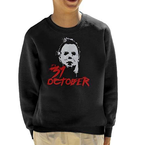 Cloud City 7 Halloween Michael Myers Its 31st October Kid's Sweatshirt (Halloween-city Michael Myers)