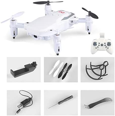 Tellaboull for for for RC 2.4G cFoldable FPV Drone quadricoptère RC avec 720p HD caméra Altitude Hold One Key Return Mode sans tête | Réduction