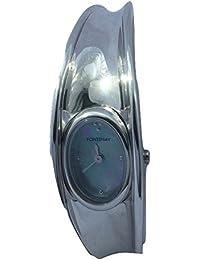 Fontenay Montre en acier inoxydable à bracelet en acier avec cadran nacré 3 ATM résistant à l'eau