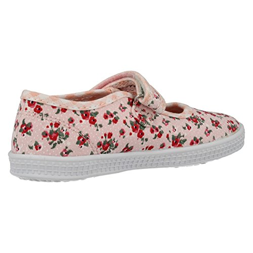 Start Rite Posy, Baskets mode fille Pink Floral